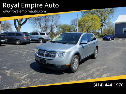 2007 Lincoln MKX for sale at Royal Empire Auto in Milwaukee WI