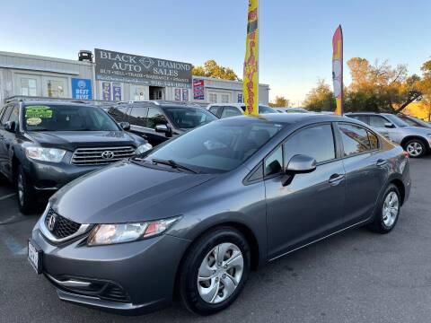 2013 Honda Civic for sale at Black Diamond Auto Sales Inc. in Rancho Cordova CA