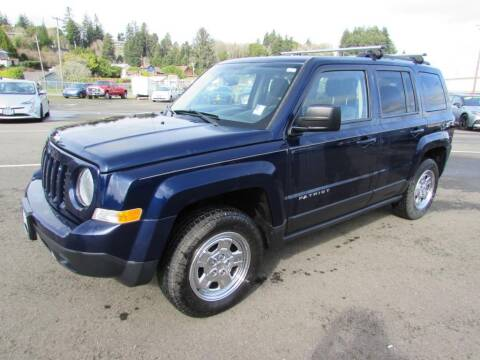 2016 Jeep Patriot for sale at 101 Budget Auto Sales in Coos Bay OR