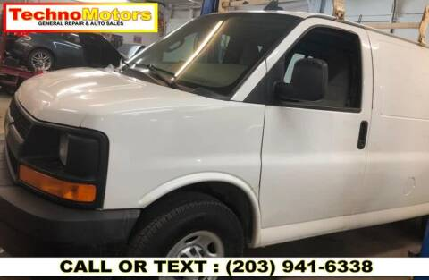 2017 Chevrolet Express Cargo for sale at Techno Motors in Danbury CT