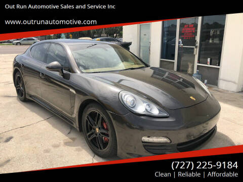 2011 Porsche Panamera for sale at Out Run Automotive Sales and Service Inc in Tampa FL