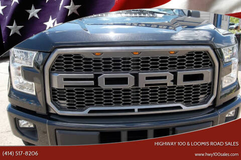 2015 Ford F-150 for sale at Highway 100 & Loomis Road Sales in Franklin WI