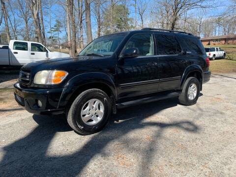 2001 Toyota Sequoia for sale at Madden Motors LLC in Iva SC