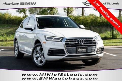 2019 Audi Q5 for sale at Autohaus Group of St. Louis MO - 3015 South Hanley Road Lot in Saint Louis MO