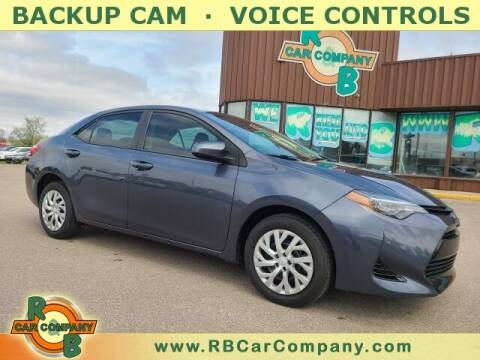 2018 Toyota Corolla for sale at R & B Car Co in Warsaw IN