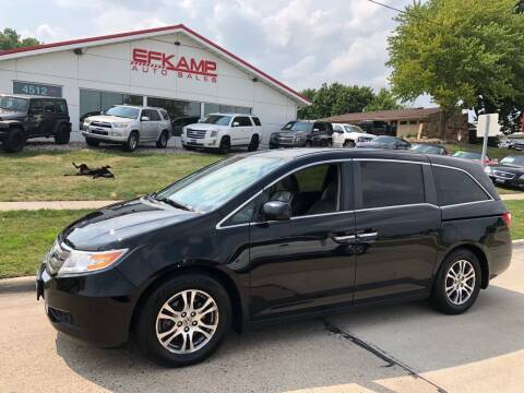2012 Honda Odyssey for sale at Efkamp Auto Sales LLC in Des Moines IA