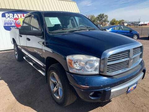 2007 Dodge Ram Pickup 1500 for sale at Praylea's Auto Sales in Peyton CO