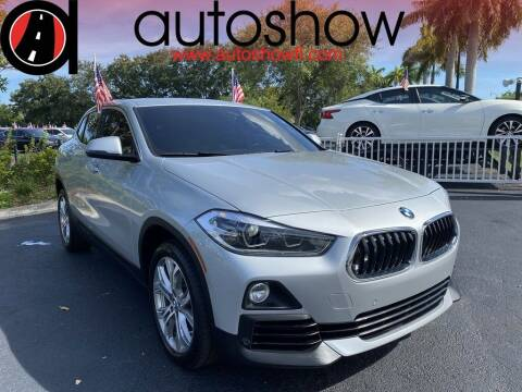 2018 BMW X2 for sale at AUTOSHOW SALES & SERVICE in Plantation FL