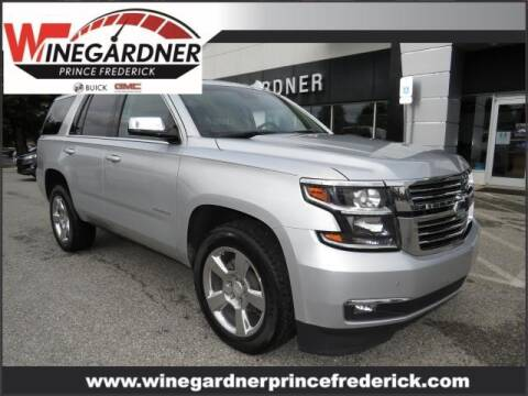 2017 Chevrolet Tahoe for sale at Winegardner Auto Sales in Prince Frederick MD