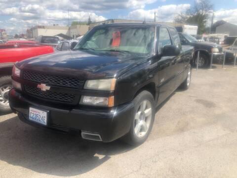 2003 Chevrolet Silverado 1500 SS for sale at TTT Auto Sales in Spokane WA