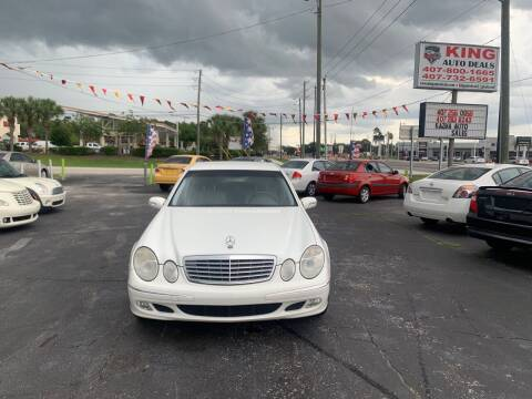 2004 Mercedes-Benz E-Class for sale at King Auto Deals in Longwood FL