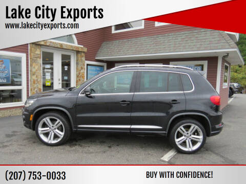 2015 Volkswagen Tiguan for sale at Lake City Exports in Auburn ME