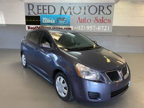 2009 Pontiac Vibe for sale at REED MOTORS LLC in Phoenix AZ