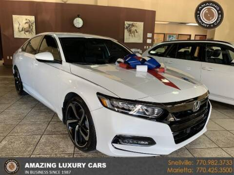 2019 Honda Accord for sale at Amazing Luxury Cars in Snellville GA