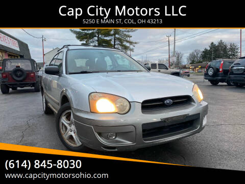 2004 Subaru Outback for sale at Cap City Motors LLC in Columbus OH