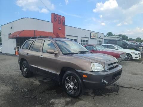 2005 Hyundai Santa Fe for sale at Best Buy Wheels in Virginia Beach VA