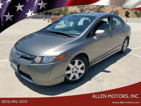 2006 Honda Civic for sale at Allen Motors, Inc. in Thousand Oaks CA