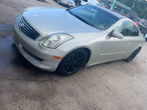 2006 Infiniti G35 for sale at Whites Auto Sales in Portsmouth VA