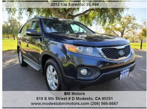2012 Kia Sorento for sale at BM Motors in Modesto CA