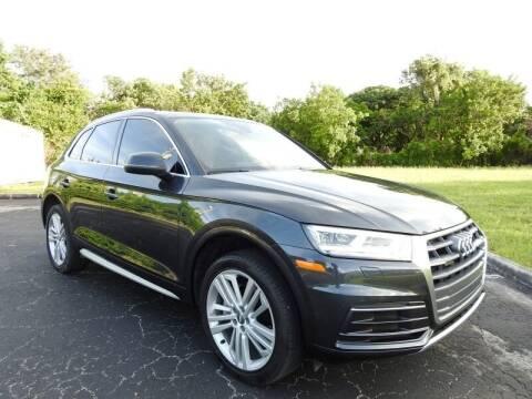 2018 Audi Q5 for sale at SUPER DEAL MOTORS 441 in Hollywood FL