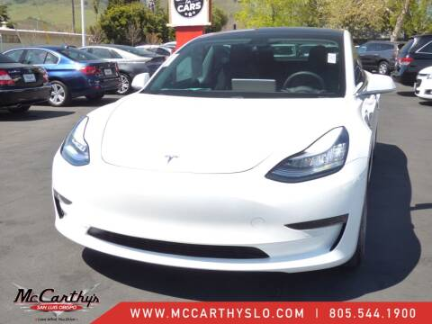 2019 Tesla Model 3 for sale at McCarthy Wholesale in San Luis Obispo CA