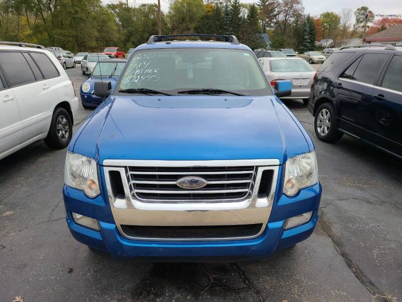 2010 Ford Explorer Sport Trac for sale at All State Auto Sales, INC in Kentwood MI