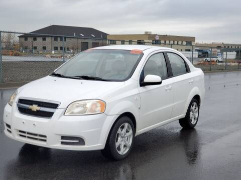 2007 Chevrolet Aveo for sale at FRESH TREAD AUTO LLC in Springville UT