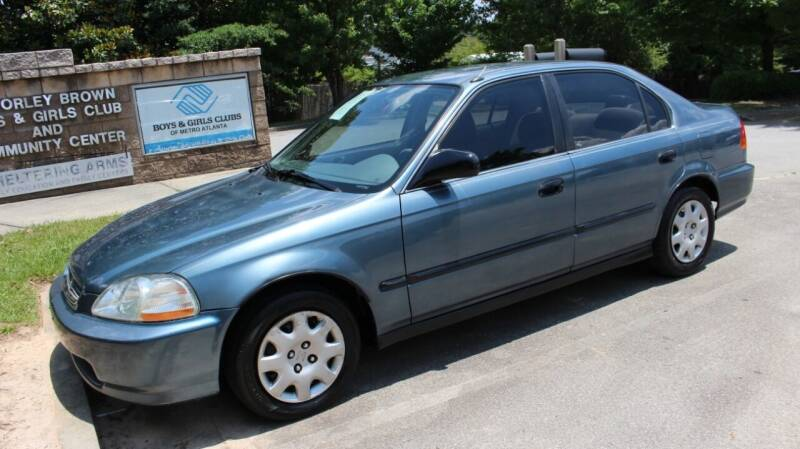 1998 Honda Civic for sale at NORCROSS MOTORSPORTS in Norcross GA