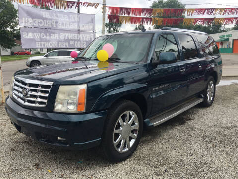 2006 Cadillac Escalade ESV for sale at Antique Motors in Plymouth IN