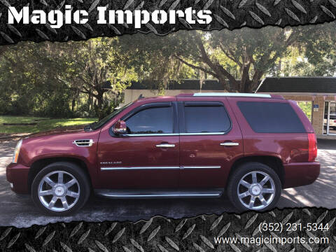 2010 Cadillac Escalade for sale at Magic Imports in Melrose FL