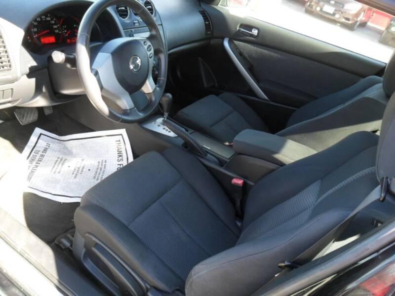 2009 Nissan Altima 2.5 S 2dr Coupe 6M - Houston TX