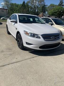 2012 Ford Taurus for sale at Martell Auto Sales Inc in Warren MI