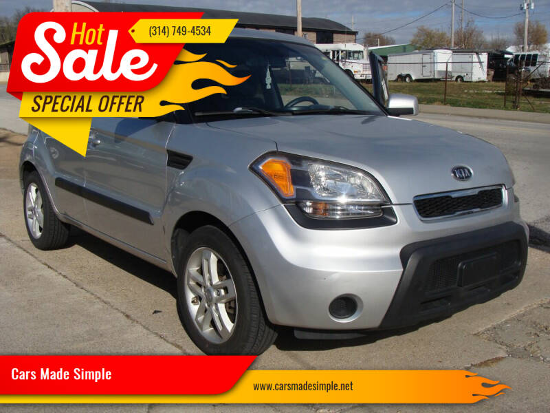 2011 Kia Soul for sale at Cars Made Simple in Union MO