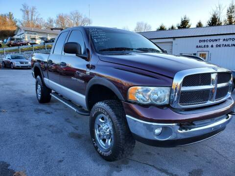 2004 Dodge Ram Pickup 2500 for sale at DISCOUNT AUTO SALES in Johnson City TN