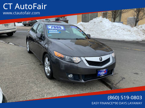 2010 Acura TSX for sale at CT AutoFair in West Hartford CT