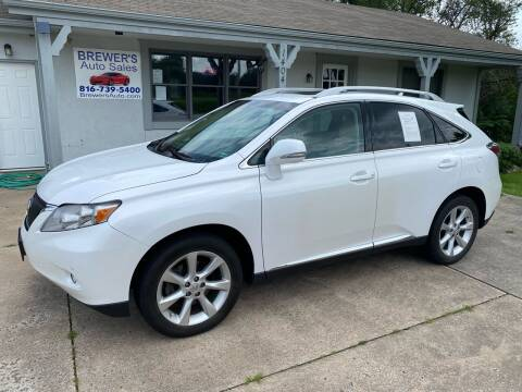 2010 Lexus RX 350 for sale at Brewer's Auto Sales in Greenwood MO