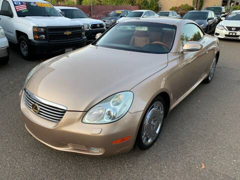 2003 Lexus SC 430 for sale at C. H. Auto Sales in Citrus Heights CA
