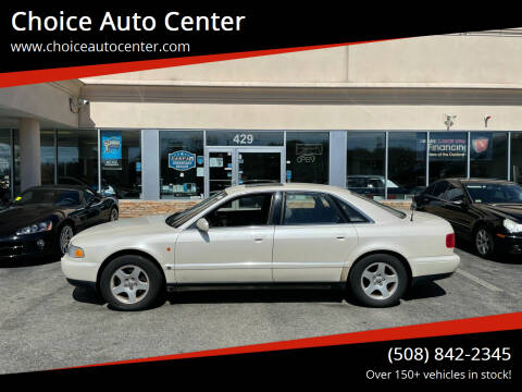 1997 Audi A8 for sale at Choice Auto Center in Shrewsbury MA