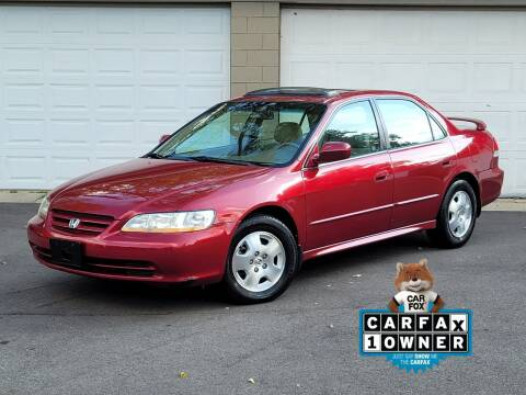 2002 Honda Accord for sale at Riverfront Auto Sales in Middletown OH