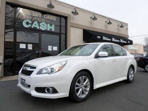 2014 Subaru Legacy for sale at Wilson-Maturo Motors in New Haven Ct CT