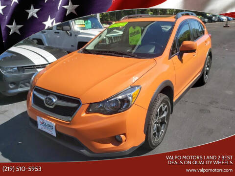 2014 Subaru XV Crosstrek for sale at Valpo Motors 1 and 2  Best Deals On Quality Wheels in Valparaiso IN