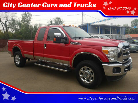 2012 Ford F-250 Super Duty for sale at City Center Cars and Trucks in Roseburg OR