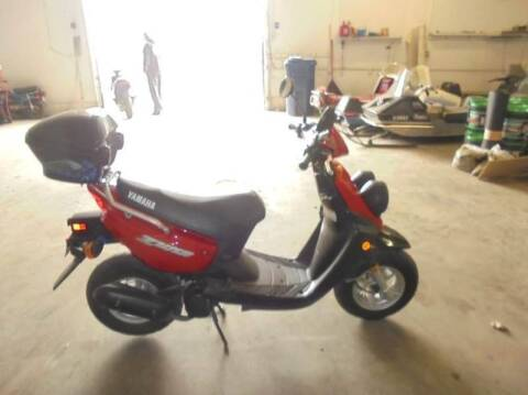 2003 Yamaha zuma for sale at Engels Autos Inc in Ramsey MN