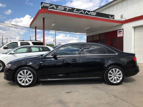 2015 Audi A4 for sale at FAST LANE AUTO SALES in San Antonio TX
