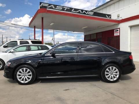 2015 Audi A4 for sale at FAST LANE AUTO SALES in San Antonio TX