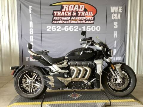 2020 Triumph Rocket 3 GT Phantom Black for sale at Road Track and Trail in Big Bend WI