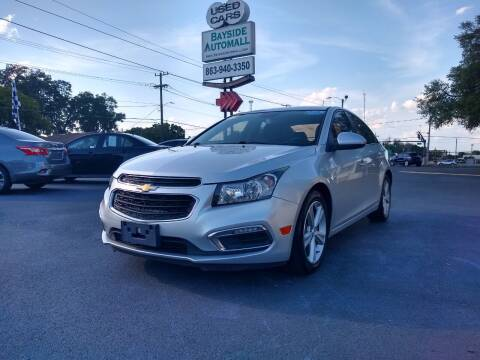 2015 Chevrolet Cruze for sale at BAYSIDE AUTOMALL in Lakeland FL