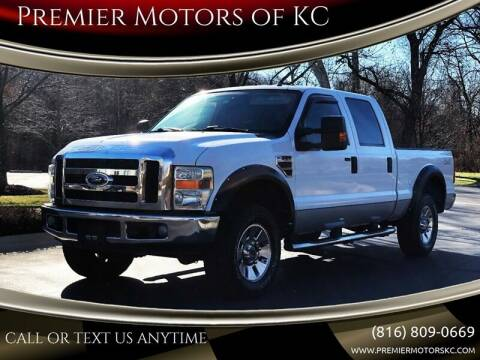 2008 Ford F-250 Super Duty for sale at Premier Motors of KC in Kansas City MO