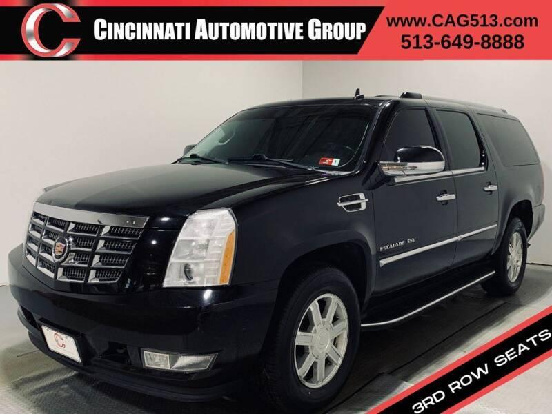 2014 Cadillac Escalade ESV for sale at Cincinnati Automotive Group in Lebanon OH