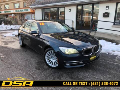 2013 BMW 7 Series for sale at DSA Motor Sports Corp in Commack NY